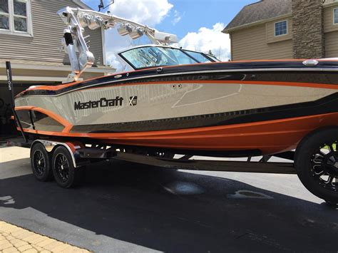 Mastercraft Boats Msrp by 2014 Mastercraft X46 Msrp Power Tower 7 4 Like New