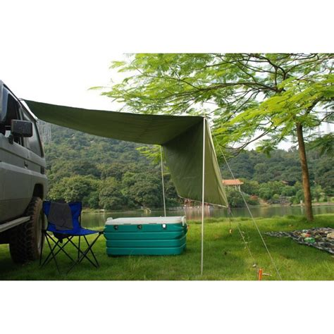 car side awning rooftop tent sun shade suv camping outdoor travel walmartcom