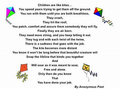 Kite Poem Poems Kites Nepa Children Care