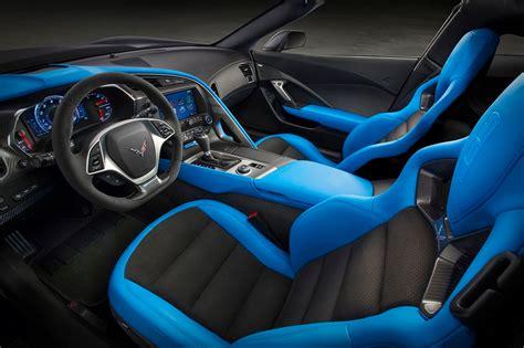 chevrolet  chevy corvette zr interior features