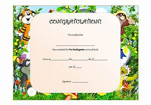 Free printable preschool graduation certificate templates image pre kindergarten certificate template the best template collection yelopaper Choice Image