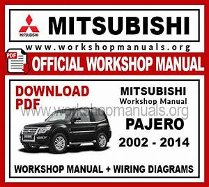 Mitsubishi Pajero Workshop Repair Manual