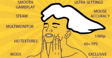 Pc Master Race Meme - pcgamer com wants to forbid gamers from saying pc master race