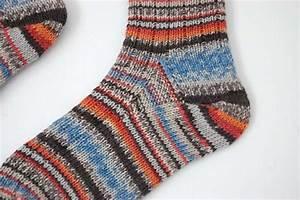 Socken Stricken Mit Muster : anleitung toe up socken stricken aus 6f digem garn sockshype ~ Frokenaadalensverden.com Haus und Dekorationen