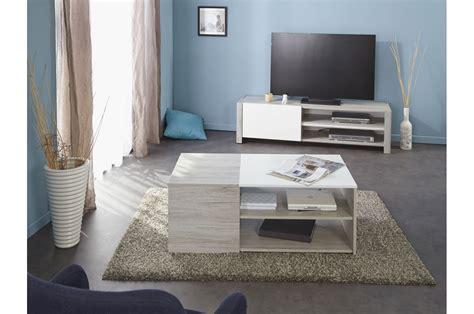 chambre à coucher adulte moderne ensemble salon design bois et laque blanche