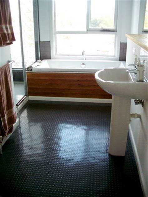 rubber flooring tiles kitchen we don t like the bathroom look per se it s all about the 4933