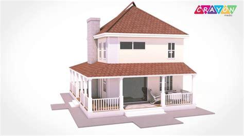 3d House Animation