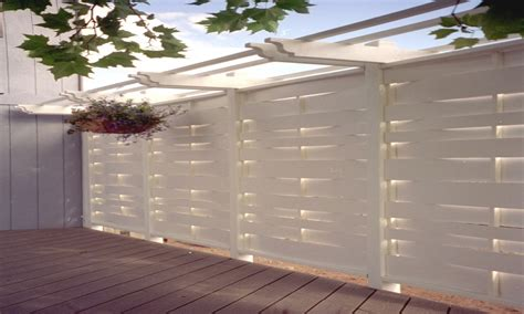 outdoor patio privacy screen ideas pergola with privacy wall deck privacy solutions images