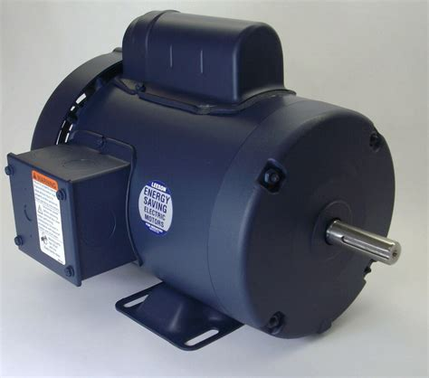 Electric Motor Frame by 3 4 Hp 3450 Rpm 56 Frame 115 230v Leeson Electric Motor