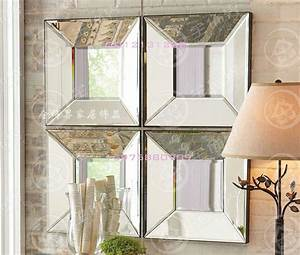 aliexpresscom buy modern mirrored wall decor bevel With mirrored wall art