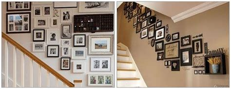 cadres escaliers deco escalier idee deco maison  deco