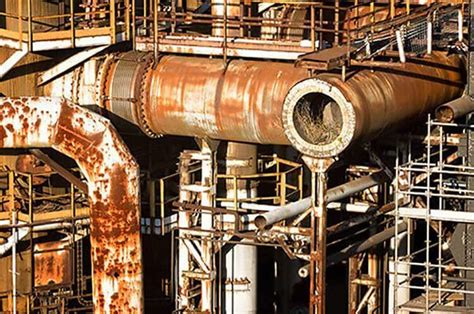rust industrial rusty pipes corrosion steel factory stainless nch industry remove water process anti removing management maintenance treatment machine