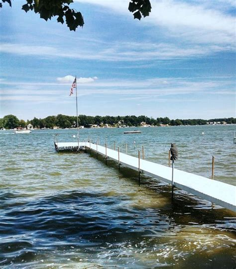 summertime sun fun lake wawasee pier  vrbo