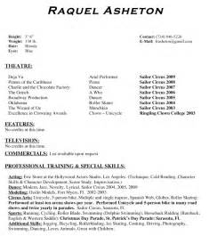 broadway resume template 28 images curriculum vitae