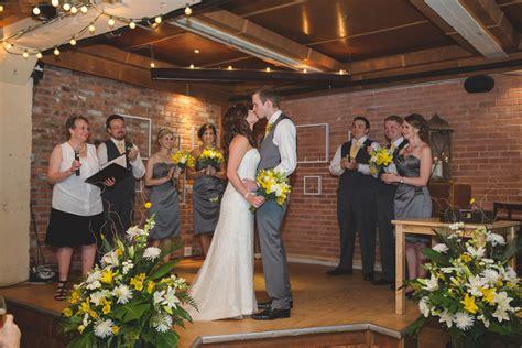 Yellowhead Brewery Wedding By Edmonton Wedding Photographers