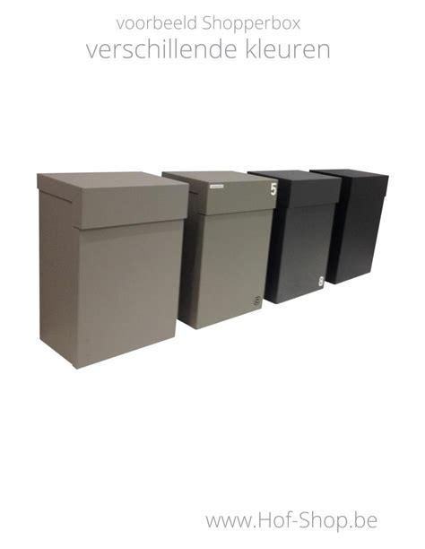 dropbox medium met ral kleur pakketbus aluminium