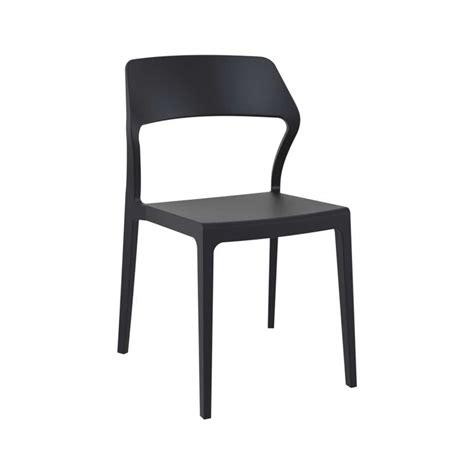 chaise en polypropylène chaise empilable design en polypropylène 4 pieds