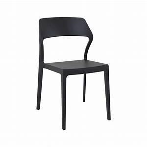 Chaise Exterieur Design : chaise d 39 ext rieur empilable design en polypropyl ne snow 4 ~ Teatrodelosmanantiales.com Idées de Décoration
