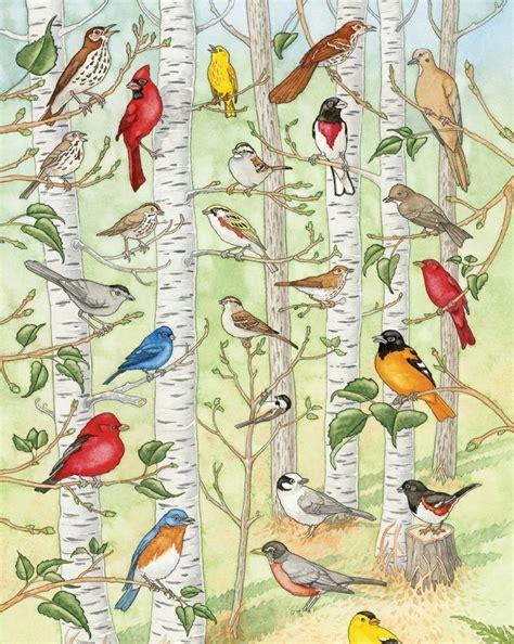 kids identify  bird  hear  morning