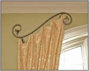 swing arm curtain rods walmart curtains home design