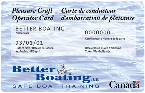 Boating Safety Ontario Canada by Ontario Pleasure Craft License Crafting