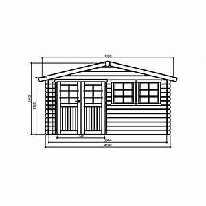 dimension madrier bois myqtocom With exceptional maison toit plat bois 17 madrier dimension