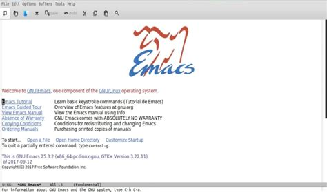 Gnu Emacs, Instala Este Mítico Editor De Texto Para Ubuntu