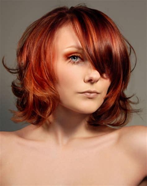 medium wavy layered hair styles