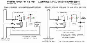 Control Power For The Circuit Breaker