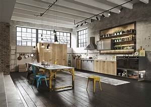 Kitchen, Design, For, Lofts, 3, Urban, Ideas, From, Snaidero