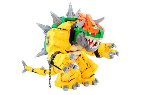 Giant Mecha Bowser Made Of Lego Is My New Dream
