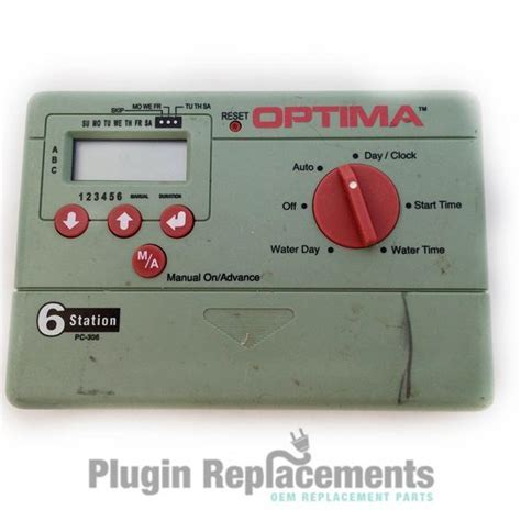 Optima Automatic Sprinkler Timer 6 Station PC 306 ? Plugin