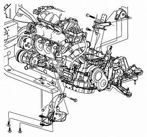2003 Chrysler Town  U0026 Country Bracket  Front  Left  Engine