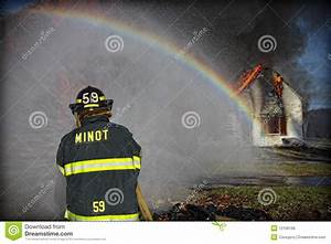 Fighting Fire Royalty Free Stock Image - Image: 12156166