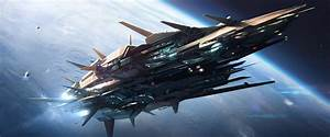 Military Sci-Fi Spacecraft - Pics about space