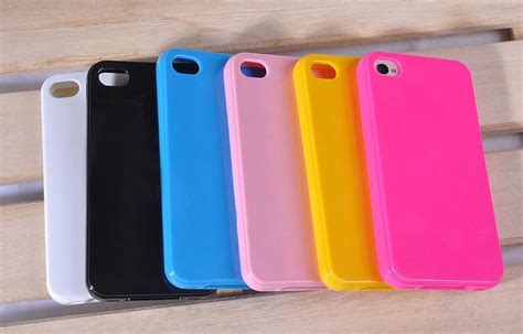 Rubber Iphone 4 Iphone 4s for iphone 4 4s sofr tpu rubber material solid color