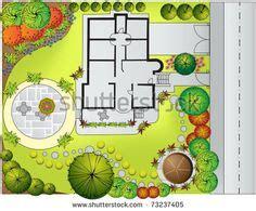 architecture landscape plan view images