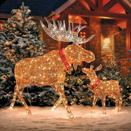 lighted moose christmas yard decoration wwwindiepediaorg