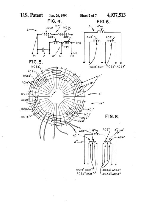 minka aire ceiling fan reverse patent us4937513 tapped auxiliary winding for multi speed