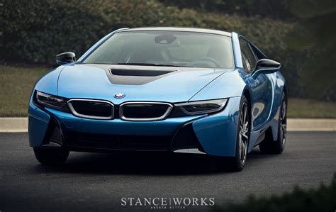 protonic blue bmw  poses  breathtaking shots