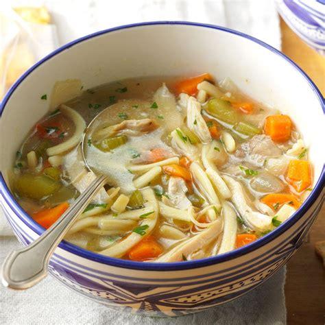 ultimate chicken noodle soup recipe taste  home