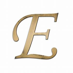 individual script letters wall decor letter e With large letter e for wall