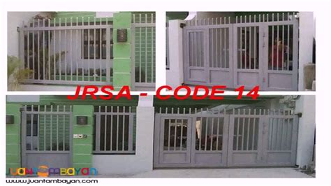 tubular gate design philippines youtube