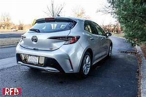 2019 Toyota Corolla Hatchback Se  6-speed Manual