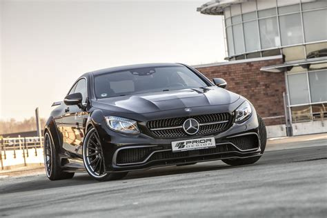 prior design mercedes  coupe pdsc widebody kit