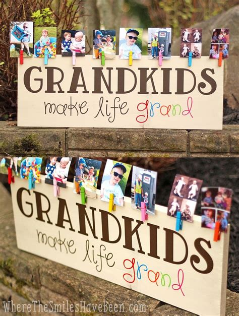 ideas from baby to grandparents for christmas best 25 grandparents gifts ideas on great grandfather gifts