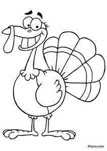 turkey coloring pages for pitara network