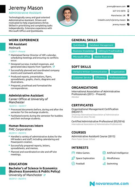 Resume Templates For Assistant by Cv For Admin Assistant Letter Exles Resume Format