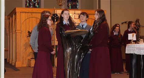 christmas carol service st marys secondary school newport