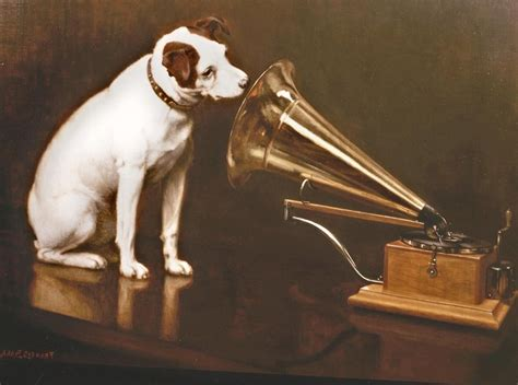 dogs gramophone hmv wallpapers hd desktop  mobile